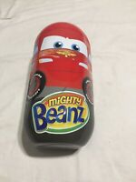 Mighty Beanz Disney Cars Tin Collector Case & 32 Mighty Beanz Lightning McQueen