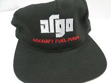 ARGO ARGO-TECH AIRCRAFT FUEL PUMPS LOGO BLACK BASIC DAD CAP/HAT STRAPBACK