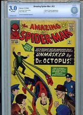 Amazing Spider-man #12 Marvel Comics CBCS 3.0 1964 3rd Doc Octopus