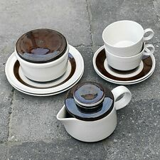 Rörstrand Forma Olle Alberius Sweden Rorstrand Coffee Cups Saucers Tea Pot Bowls