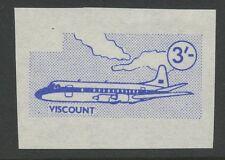 Guernsey SARK 1967 Def  3s Vignette PROOF no gum