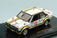 Model Car Rally Scale 1:43 Ixo Model Fiat 131 Abarth diecast vehicles