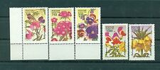 Russie - Russia 1996 - Michel n. 480/84 - Fleurs de jardin