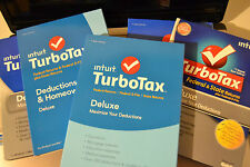 2013 2014 2015 2016 TurboTax Deluxe Federal & State Turbo Tax 4 New sealed CD's