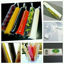 100 (Per Pack) Ice Candy / Ice Popsicle Bags - 1 3/4 Size -GET READY FOR SUMMER!