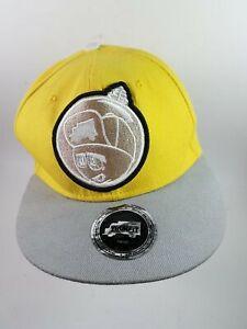 Feelin Spacey Lil Wayne Yellow/Gray Snapback Cap Hat