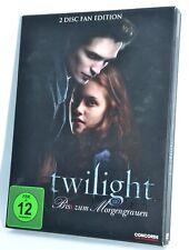 Twilight Bis(s) zum Morgengrauen Band 1Fan Edition2 DVD's Trilogie Vampire
