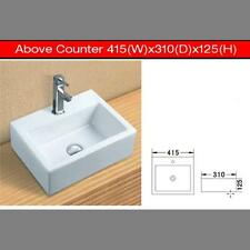Rectangle Art Ceramic Basin Above Counter 415*310*125