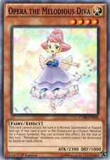 Yu-Gi-Oh CORE-EN008 Opera the Melodious Diva X3 Common Playset 1st Edition