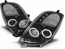 RINGS HEADLIGHTS LPTO03 TOYOTA YARIS 2006 2007 2008 2009 CHROME