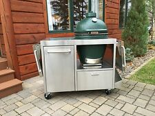 Custom Table Cart for Big Green Egg Kamado Joe or Primo