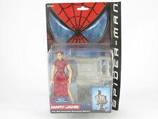 Marvel Leyendas Mary Jane Spider-Man Película en perfecto estado en cartón sellado Sellado Nuevo Toy Biz