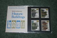 Post Office Presentation Pack 100 'Historic Buildings' 1978 MNH