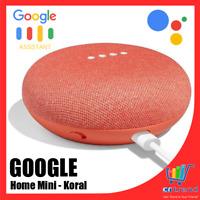 Google Home Mini Sprachgesteuerter Lautsprecher WLAN WiFi Bluetooth Koralle