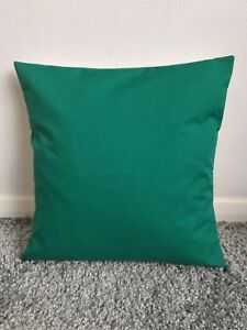 """NEW 10"""" PLAIN JADE GREEN CUSHION COVER PILLOW BED SOFA MORE COLOURS SIZES AVAIL"""