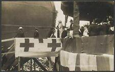 Postcard. Royal Navy Battleship HMS Bellerophon Launch 1907 Gale & Polden RPPC