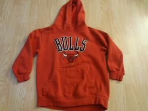 Youth Chicago Bulls S (8) Hoodie Hooded Sweatshirt Adidas