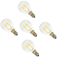 5er 2W E14 LED Lampe Filament Glühfaden Fadenlampe Energiesparlampe Warmweiß