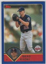 2003 Topps Baseball Minnesota Twins Team Set