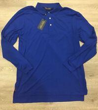 Polo Golf Men's Shirt Ralph Lauren Large Saphire Star MSRP  $97.50 CAMISA POLO