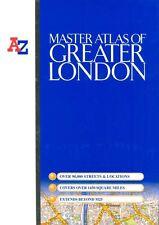 Master Atlas of Greater London (Street Maps & Atlases),Geograp ,.9781843482154