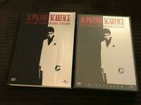 SCARFACE (2003, Two-Disc Anniversary Edition) Rare Embossed Slipcover 2 DVD Set