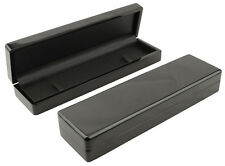 1 x Premium Glossy Ebony Series Wooden Bracelet/Watch Box - (WB-50)