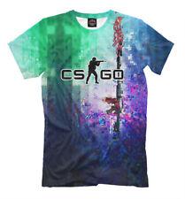 CS GO t-shirt - counter strike clothing multiplayer online shooter gamer tee