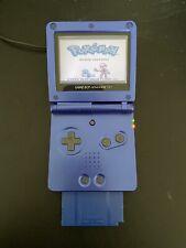 Game Boy Advance SP dunkel blau