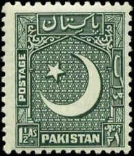 Pakistan Scott #48 SG #45  Mint Hinged