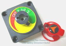 Dual Marine Battery Isolator Safety Shut Off Switch
