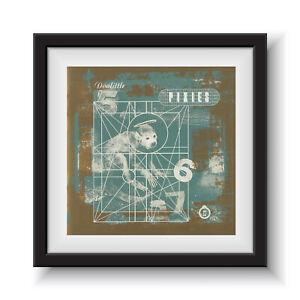"Pixies - Doolittle   12"" Album Cover - Framed 16"" x 16"""