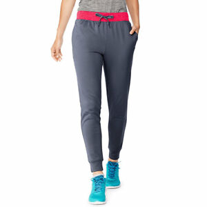 2 Hanes Sport™ Women's Performance Fleece Jogger Pants With Pockets O4875