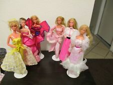 New Listing1980 Barbies Lot of 6 dolls in original clothes