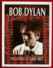 BOB DYLAN - CONCERT TOUR SERIES - Card #01 - TITLE CARD - Sporting Profiles 2009