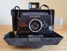 VINTAGE POLAROID THE REPORTER COLORPACK LAND CAMERA FOLDING RETRACTABLE