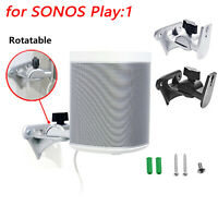 Wall Mount Bracket Station Base Protect for Sonos Play:1 Mini Wireless Speaker