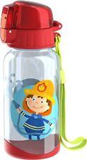 HABA 303695 - Trinkflasche Feuerwehr | Kinder-Trinkflasche für Feuerwehr-Fa