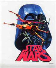 STAR WARS REPRO 1977 RETRO IRON ON T SHIRT TRANSFER UNUSED LOGO VERSION NOT DVD