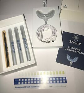 Snow ~ LED Teeth Whitening System up to 6 Month Supply NEW/SEALED