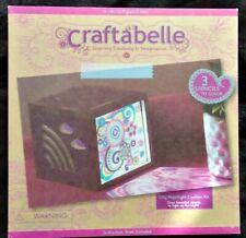 NightliGht Lamp Dyi Craft Kit Girls Gift Deluxe Craftabelle Set Kids Creation Nw
