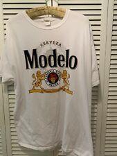 MODELO Men's T-Shirt White XL