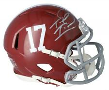 TUA TAGOVAILOA Autographed Alabama Crimson Tide Speed Mini Helmet FANATICS