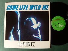 "HEAVEN 17 : Come live with me / make a bomb 12"" MAXI French B.E.F. VIRGIN 600907"