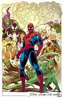 AMAZING SPIDER-MAN #1 JOHN ROMITA SR VARIANT MARVEL COMICS 2018 NICK SPENCER