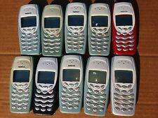 10 X COMPLETE NOKIA 3410 MOBILE PHONES POWER TESTED LCD GOOD WHOLESALE JOB LOT