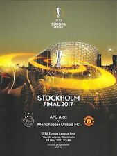 Manchester United v Ajax - UEFA Europa League Final - 24 May 2017 - Free Poster