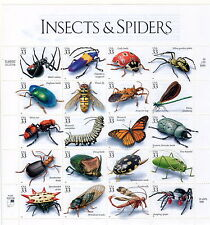 Sc# 3351 Insects & Spiders MNH Sheet of 20 33 cents issued 1999 P111