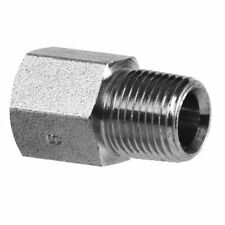 Adapt 1/4 Male Quick Coupler To 3/8 Hose - male 1/4 pipe X female 3/8 pipe