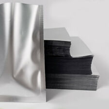 100 pcs Mylar Bags Aluminum Foil Flat Packaging Bag Storage Pouch for Bulk Food